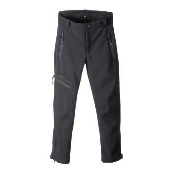 GTS gyerek softshell nadrág fekete