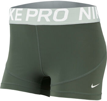 "Nike Pro 3"" Training Shorts Nők zöld"