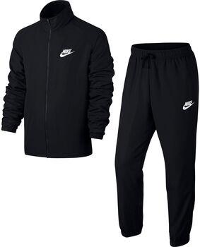 Nike Track Suit Woven férfi melegítő Férfiak fekete