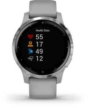 Garmin vivoactive 4S GPS-es futó okosóra fehér