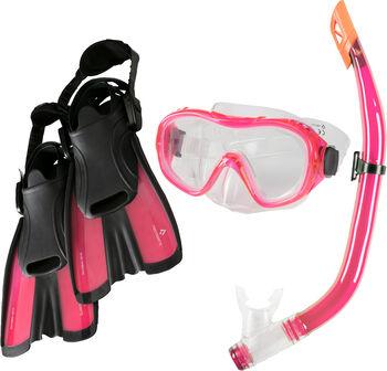 TECNOPRO ST5 3 KIDS gyerek búvárkészlet rózsaszín