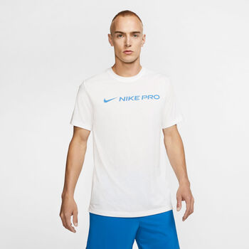 Nike Pro Dri-FIT férfi póló Férfiak fehér