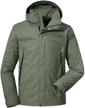 SCHÖFFEL Jacket Easy M 3 férfi túrakabát Férfiak zöld
