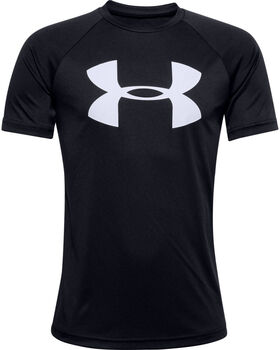 UNDER ARMOUR Fiú-T-shirt fekete