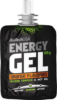 BioTech Energy gel 60 g narancssárga