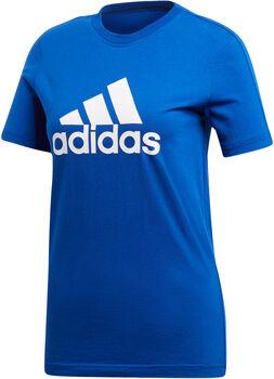ADIDAS YB Essentials Logo gyerek póló kék