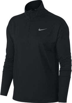 Nike W Element 1/2-Zip női futófelső Nők fekete