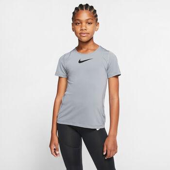 Nike Pro Top lány póló szürke