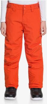 Quiksilver Estate gyerek snowboardnadrág narancssárga