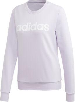 adidas Essentials Linear női pulóver Nők lila