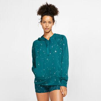Nike Dri-FIT Get Fit női kapucnis felső Nők zöld