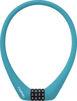 Cytec  Kábelzár Silikon 55cm mit 4er Code kék
