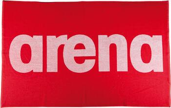 Arena  Handystrandtörölköző piros