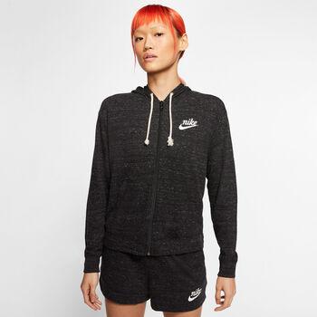 Nike Sportswear Gym Vintage női kapucnis dzseki Nők fekete