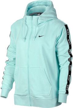 Nike Sportswear Women's Full-Zip Logo Hoodie Nők zöld