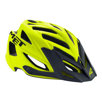 MET Kerékpár sisak sárga