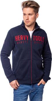 Heavy Tools Tarak férfi cipzáras felső Férfiak kék