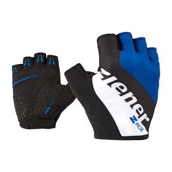 Ziener kerékpáros kesztyű Férfiak kék