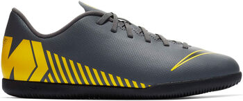 Nike Vaporx 12 Club GS IC gyerek teremfocicipő Fiú szürke