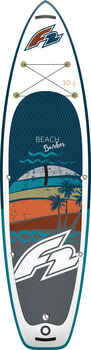 F2 iSUP Beach Bomber Stand Up Paddle fehér