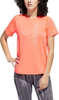 adidas TECH BOS TEE női póló Nők rózsaszín