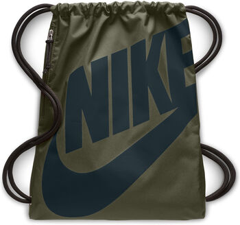 Nike Heritage Gymsack tornazsák zöld