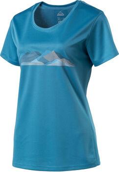 McKINLEY Active Raffa UPF15 női póló Nők kék
