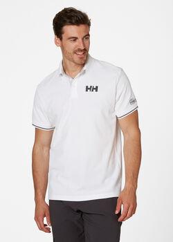 Helly Hansen HP Shore férfi galléros póló Férfiak törtfehér