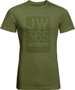 Jack Wolfskin 365 T M Férfiak zöld