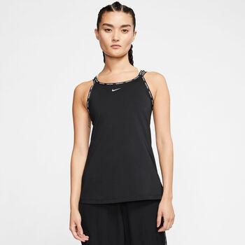 Nike W Np Cln Elastika Tank női top Nők fekete
