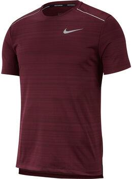 Nike M Dri-Fit Miler Top férfi futópóló piros