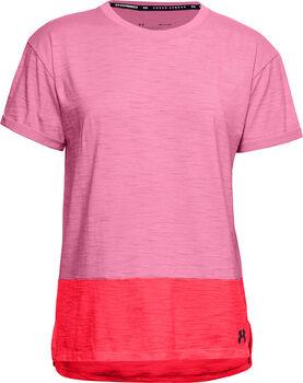 Under Armour Charged Cotton® női póló Nők rózsaszín