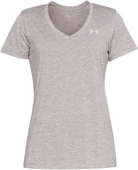 Under Armour Tech™ V-Neck Twist női póló Nők szürke