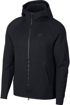 Nike Nsw Tch Flc Hoodie kapucnis felső Férfiak fekete