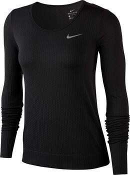 Nike Infinite Top LS női hosszúujjú felső Nők fekete
