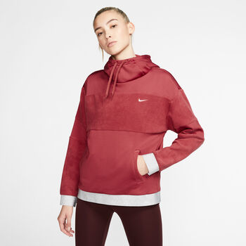 Nike W Icon Clsh Flc Po női kapucnis felső Nők piros