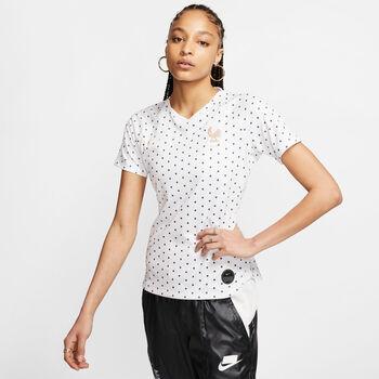 Nike Dri-FIT Breathe France FF Away női focimez póló Nők fehér