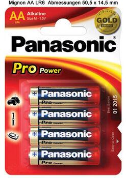 Panasonic  Elem 1,5VLR6PPG/4BP fehér