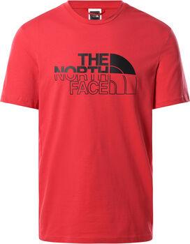 The North Face Campay Tee férfi póló Férfiak piros