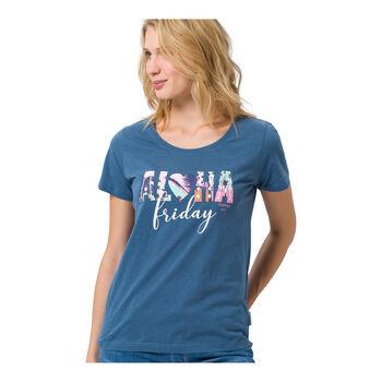 Roadsign Aloha női póló Nők kék