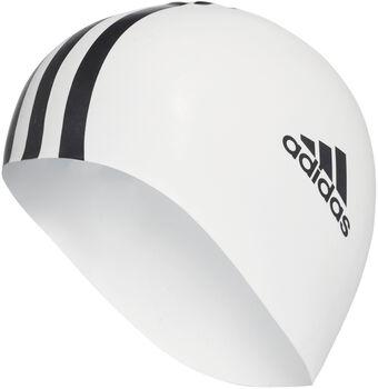 ADIDAS Silicone 3S úszósapka fehér
