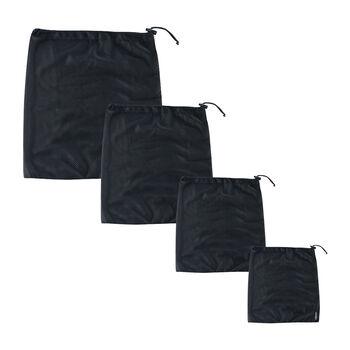 COCOON hálós tasak készlet fekete
