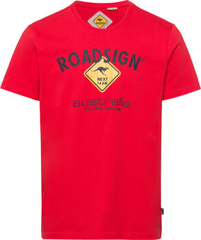 Roadsign férfi póló Férfiak piros