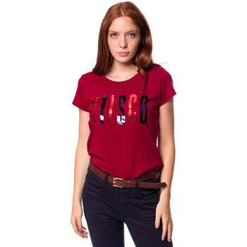 Heavy Tools Marsala női póló Nők piros