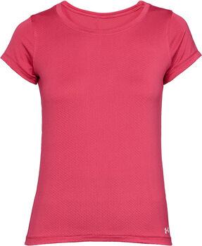 Under Armour HeatGear Armour SS női póló Nők rózsaszín