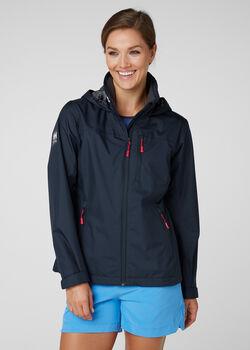 Helly Hansen Crew Hooded női kabát Nők kék
