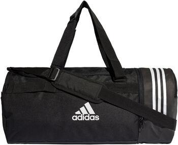 adidas CVRT 3Stripes Duffel sporttáska fekete