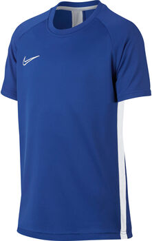 Nike Dri-FIT Academy Big Kids' Short-Sleeve Soccer Top Fiú kék