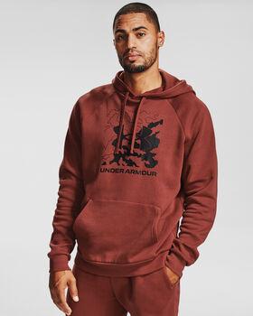 Under Armour  Rival FL BoxHr. Sweater mit Kapuze Férfiak piros