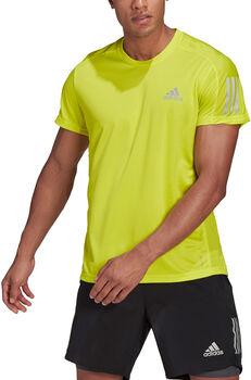 adidas OWN THE RUN férfi póló Férfiak sárga
